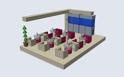 バーズアイ水槽 オーダーメイドの流れ 3.完成イメージ作成